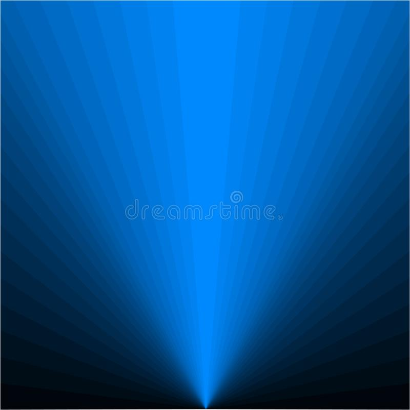 Tło błękitni promienie ilustracja wektor