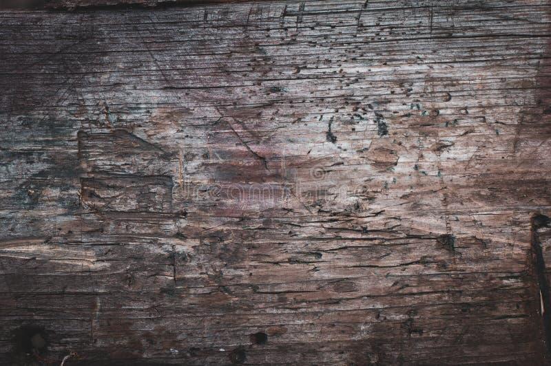Tło stara podława tekstura z ogłoszoną drewnianej deski teksturą zdjęcie royalty free