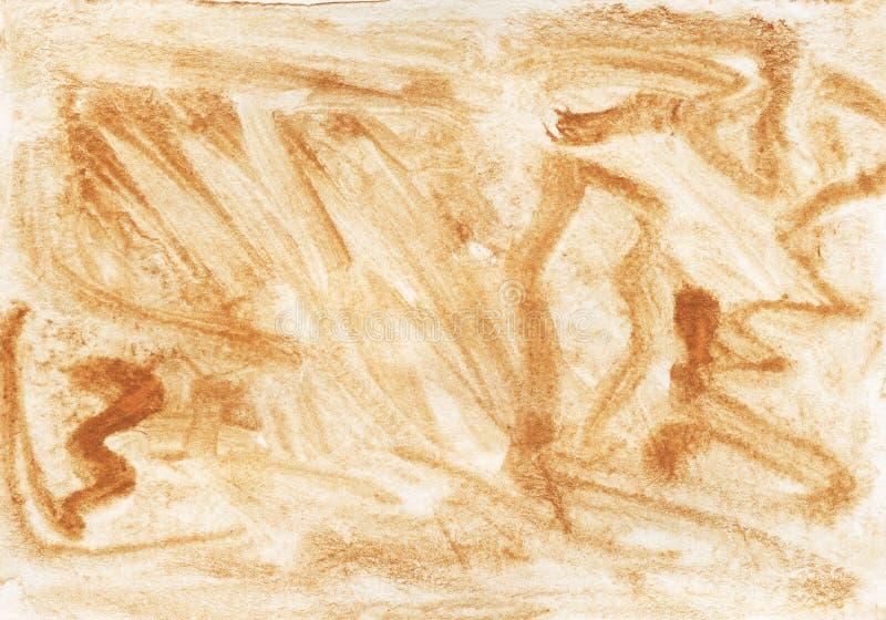 Tło tekstury akwareli metalu złoto obrazy royalty free