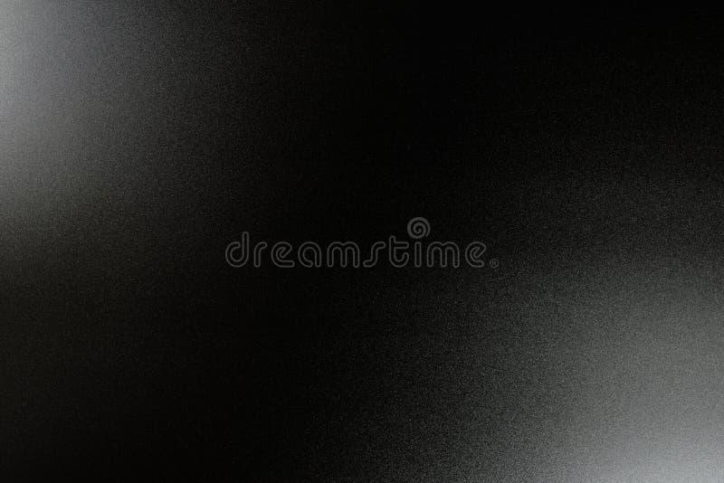 Tło w czerni, miękki kolor iluminujący z delikatnym światłem royalty ilustracja
