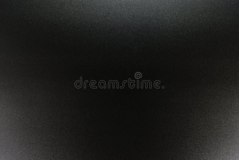 Tło w czerni, miękki kolor iluminujący z delikatnym światłem ilustracja wektor