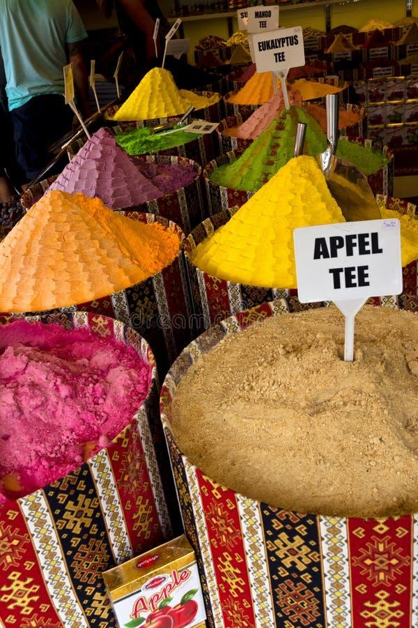 Tè al frutto turco Colourful fotografia stock
