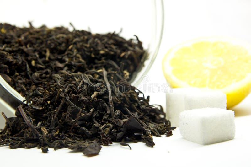 Download Tè Con Il Limone E Lo Zucchero Immagine Stock - Immagine di naughty, foglio: 30826055