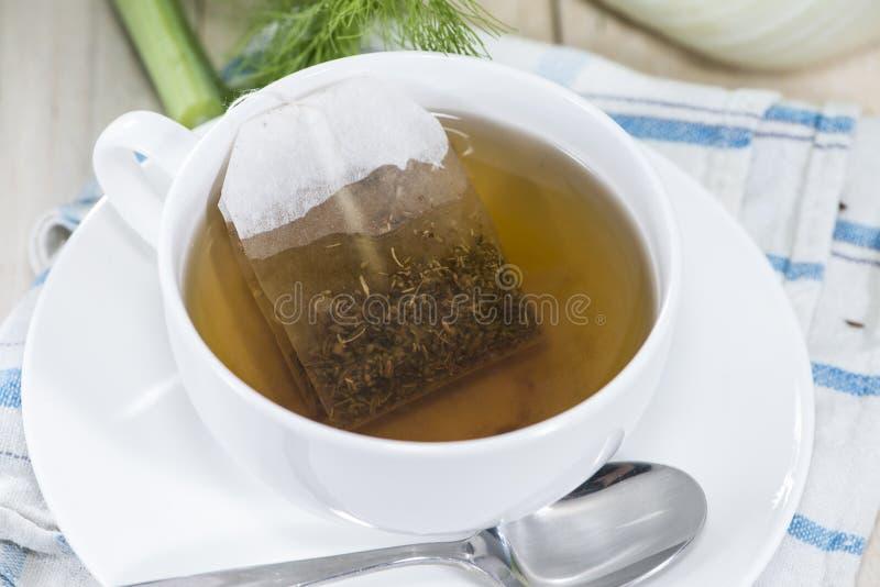 Tè del finocchio fotografie stock