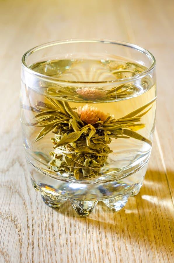 Tè del fiore di Lotus immagine stock