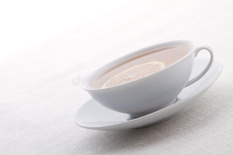 Tè del limone fotografia stock