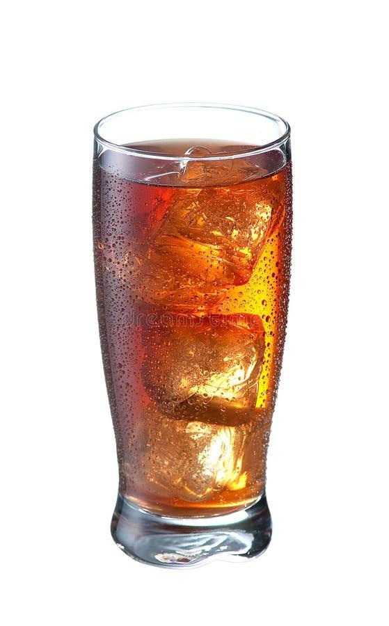 Tè del limone del ghiaccio immagini stock