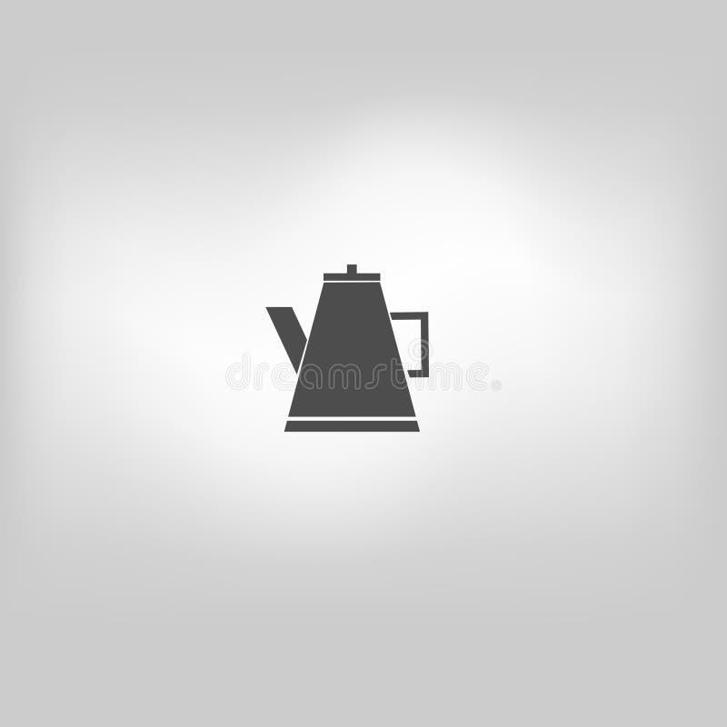 Tè dell'icona di vettore illustrazione vettoriale