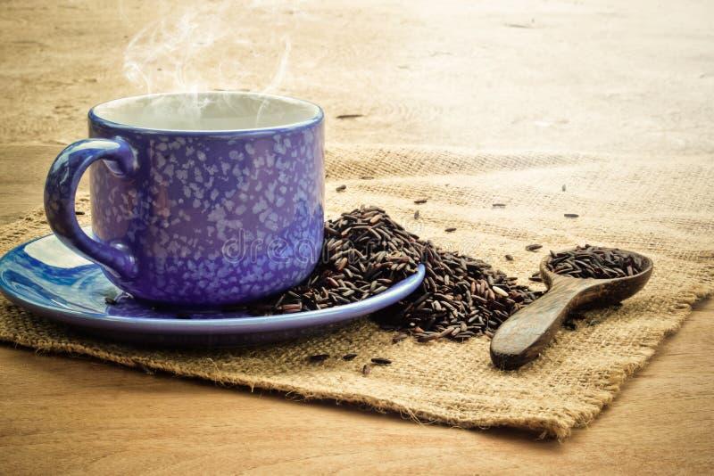 Tè della bacca del riso immagine stock
