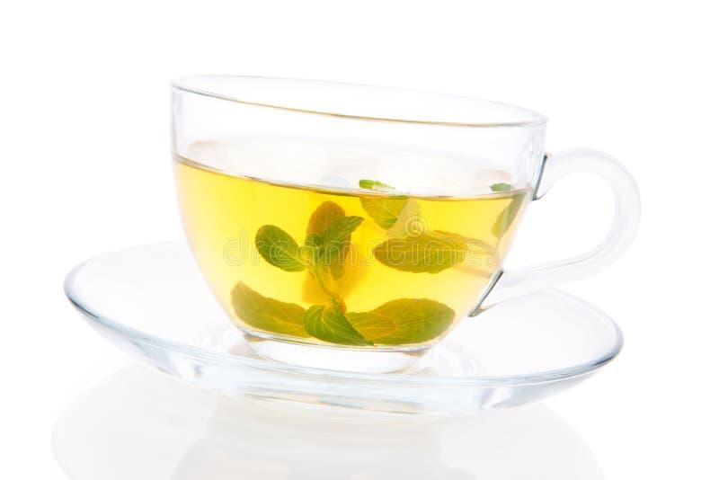 Tè della menta piperita. immagine stock