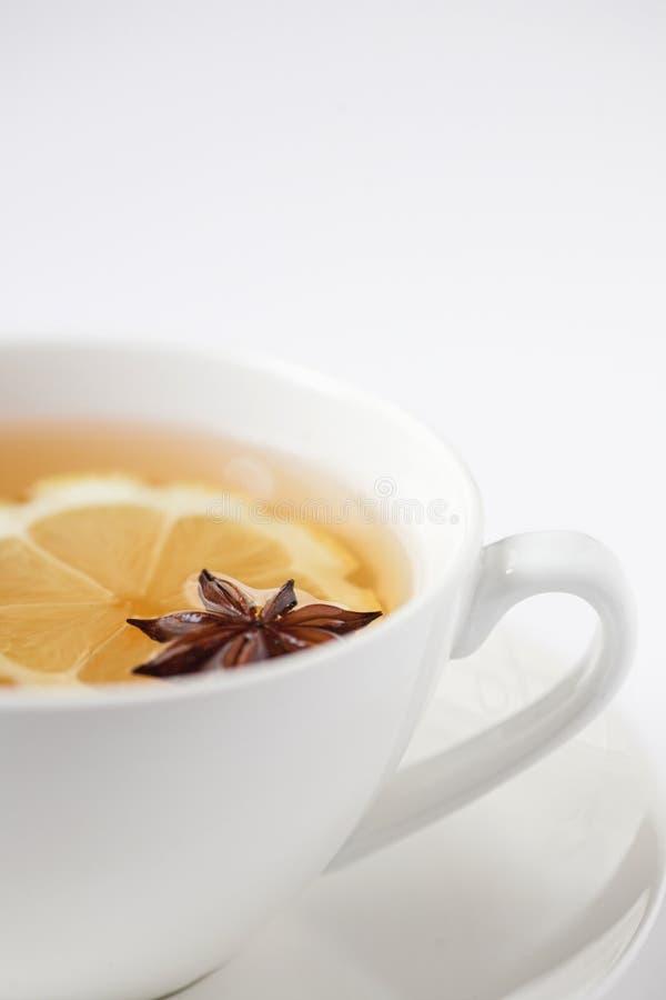 Tè di erbe dell'anice & del limone immagini stock