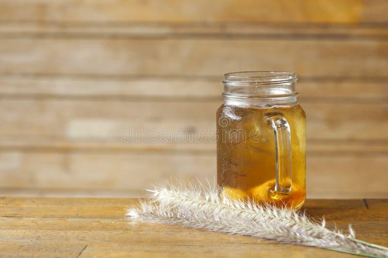 Tè ghiacciato del limone fotografia stock