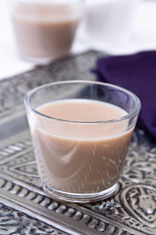 Tè indiano del Chai immagine stock
