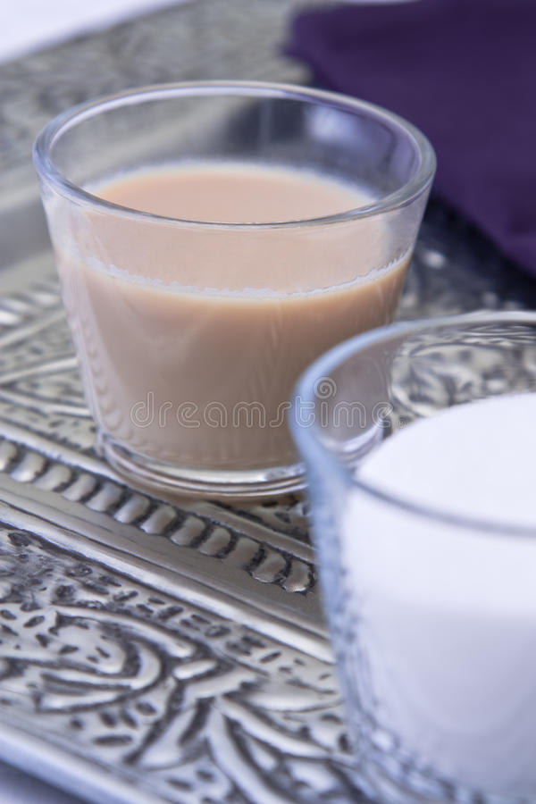 Tè indiano del Chai fotografie stock