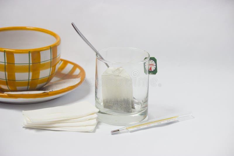 Tè per freddezza immagine stock libera da diritti