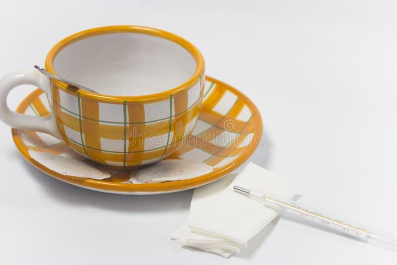 Tè per freddezza fotografia stock