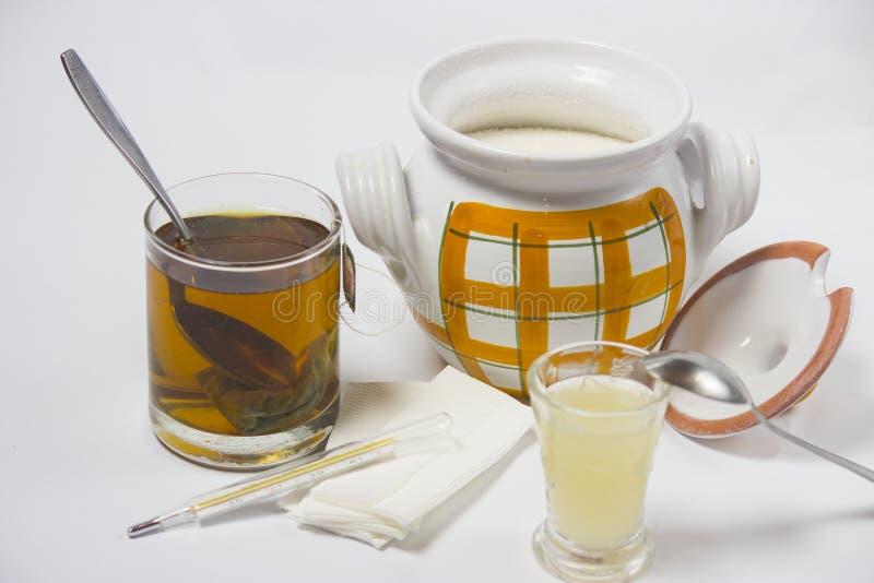 Tè per freddezza immagini stock