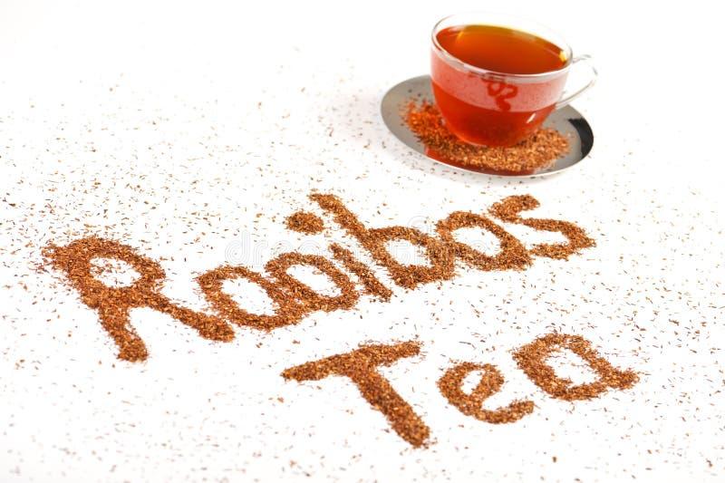 Tè rosso sano del cespuglio dalla Sudafrica immagini stock libere da diritti