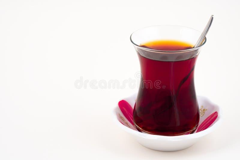 tè rosso turco fotografia stock libera da diritti