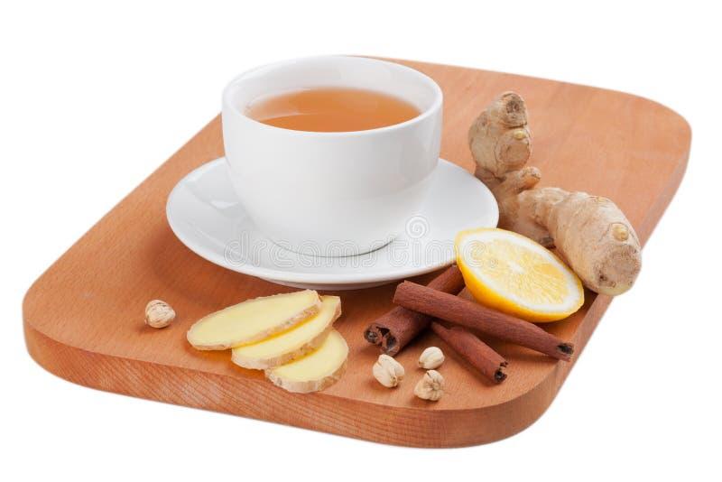 Tè sano dello zenzero immagine stock
