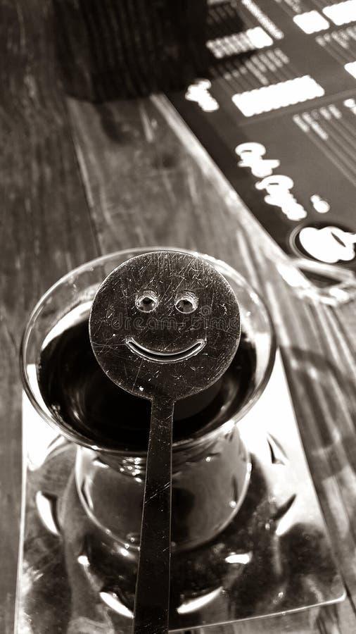 Tè sorridente fotografie stock libere da diritti
