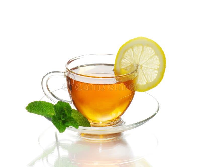 Tè in tazza fotografie stock libere da diritti