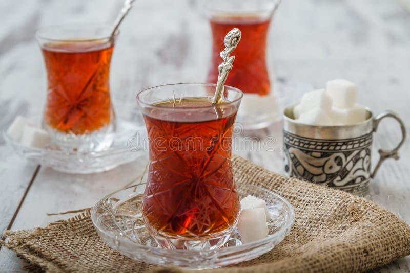 Tè turco tradizionale immagini stock libere da diritti