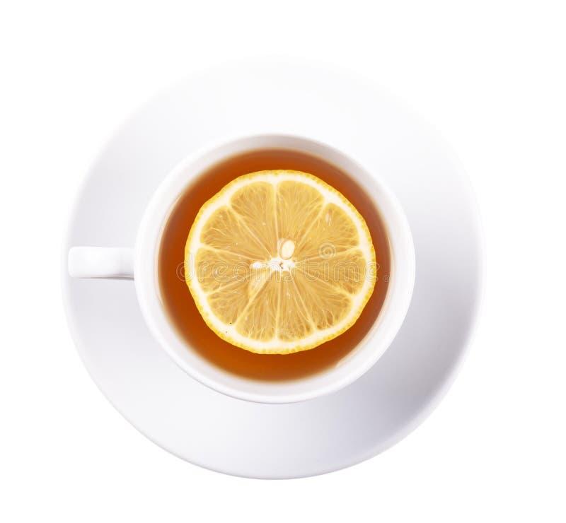 Té con el limón imagenes de archivo