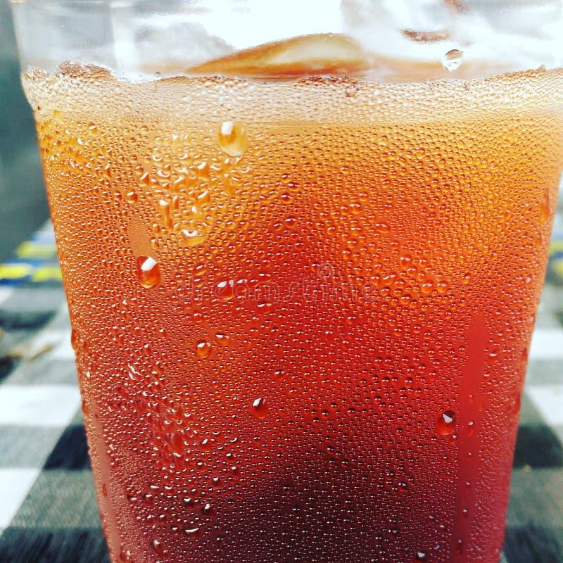 Té de hielo foto de archivo