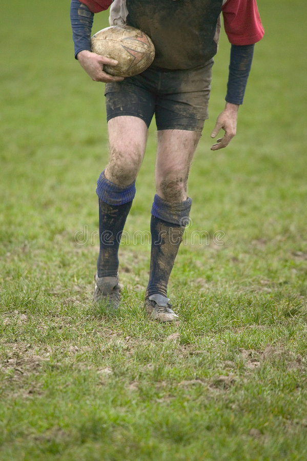 Té de rugby images stock
