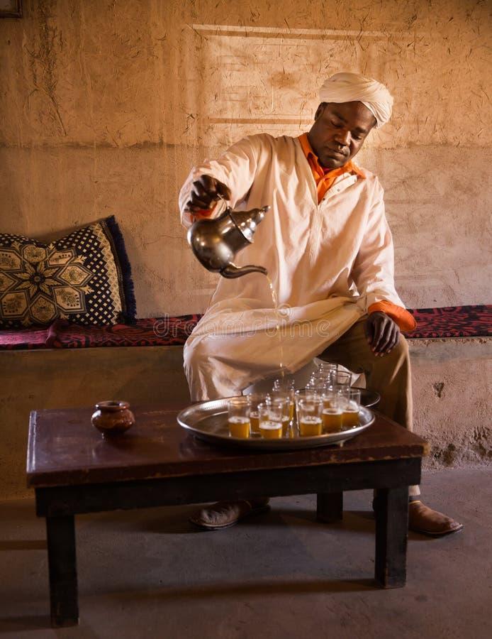 Té del Berber imagenes de archivo