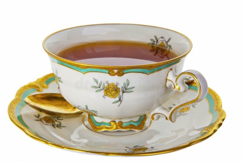Taza de té. foto de archivo