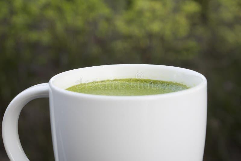 Té verde de Matcha foto de archivo libre de regalías