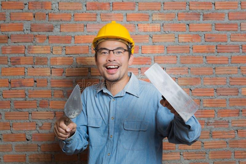 Técnico de la construcción fotografía de archivo