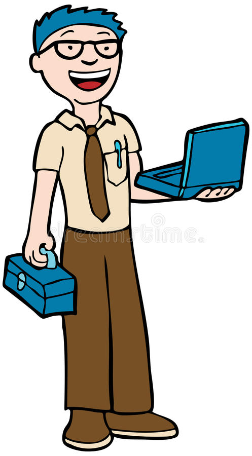 Técnico del ordenador libre illustration