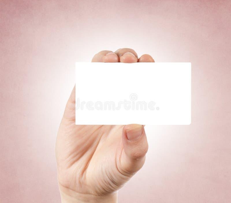 Télécarte vierge image libre de droits