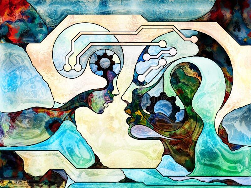 Téléchargement d'esprit illustration libre de droits