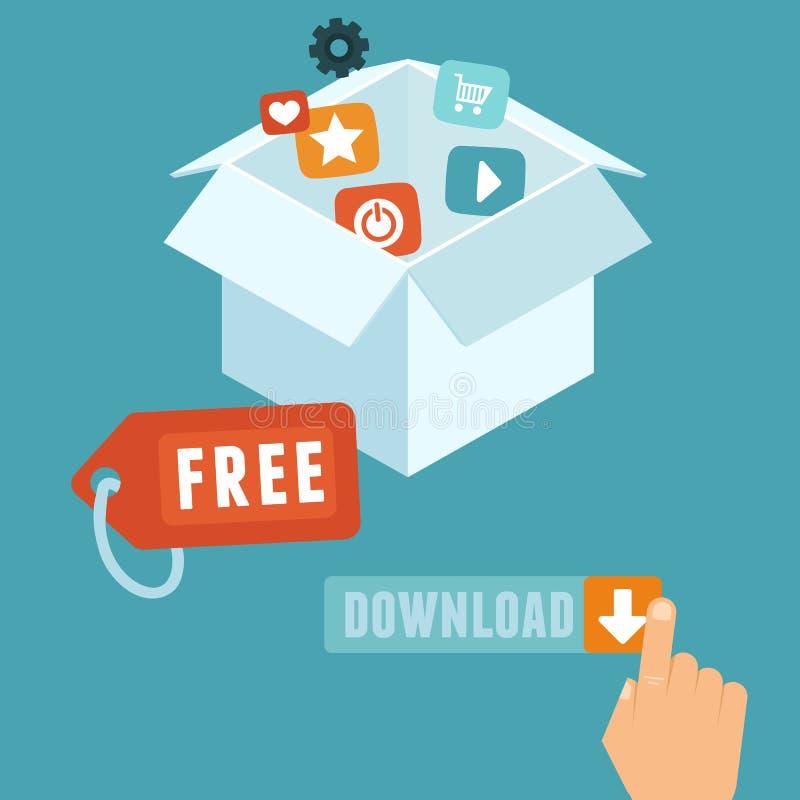 Téléchargement gratuit illustration stock