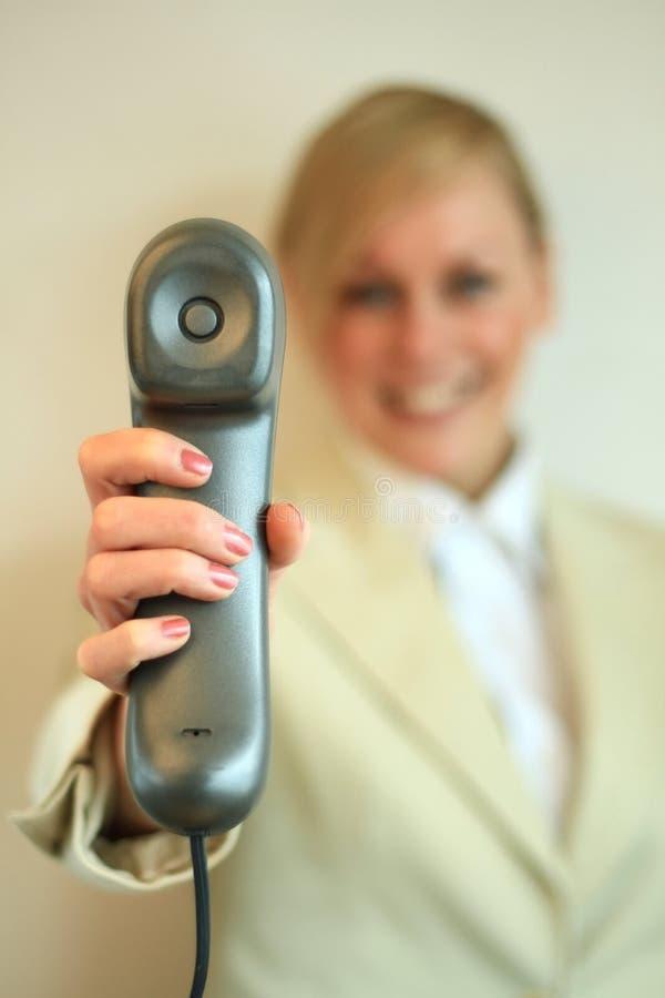 Téléphone 1 de bureau photo libre de droits