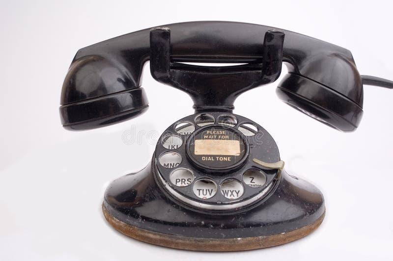 Téléphone antique photographie stock