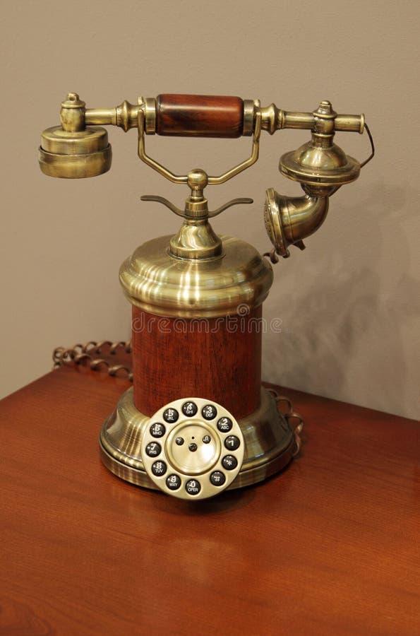 Téléphone antique photos libres de droits