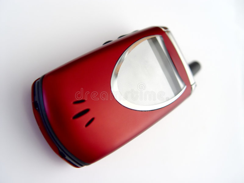 Téléphone cellulaire de chiquenaude image libre de droits