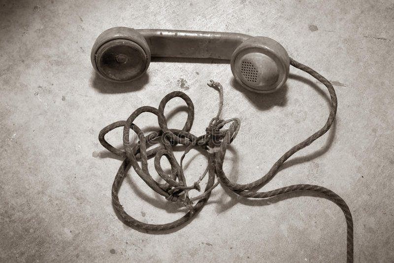 Téléphone d'antiquité photos libres de droits