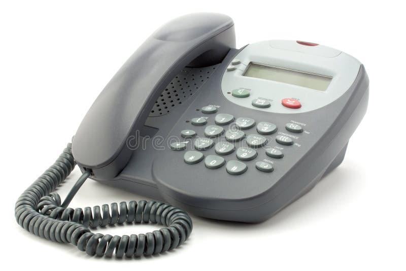Téléphone de bureau de Digitals photo stock