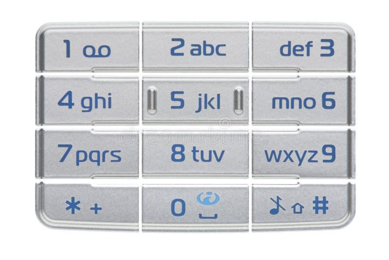 téléphone de clavier numérique image stock