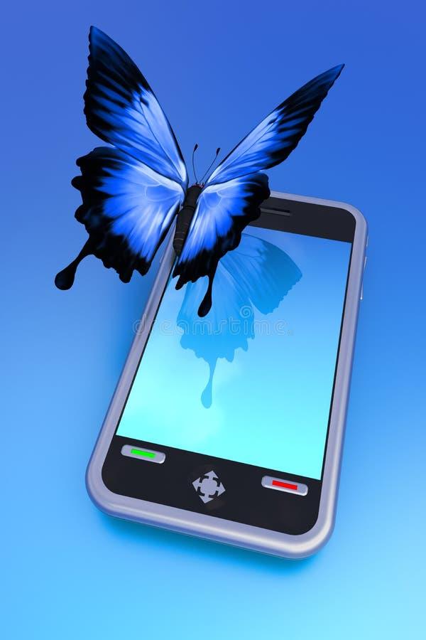 Téléphone de contact photo libre de droits