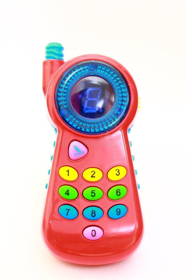 Téléphone de jouet images stock
