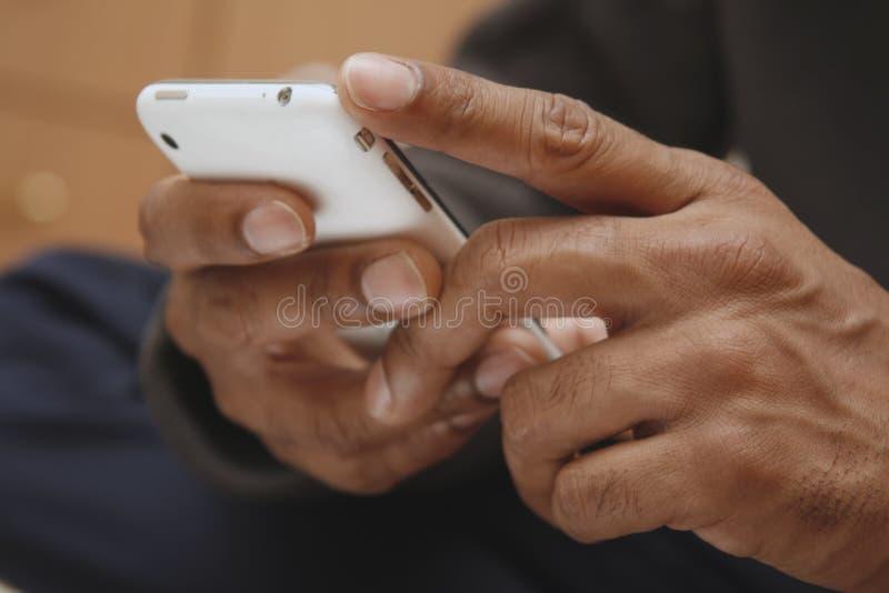 téléphone de main photo libre de droits