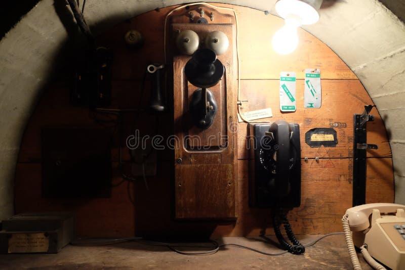 Téléphone de vintage du Mont Wilson images stock