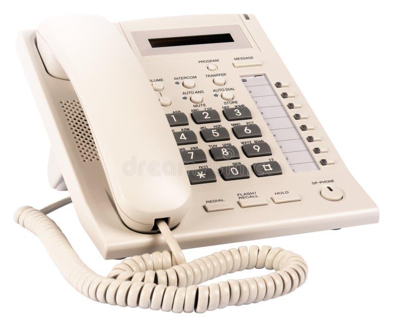 Téléphone digital de bureau photos libres de droits